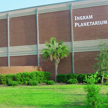Graphic link to Ingram Planetarium blog page