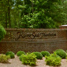 river sea private golf community living
