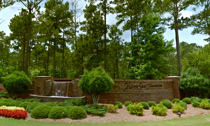 River Sea, a 400 acre gated community located between Southport and Shallotte, North Carolina