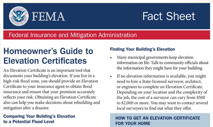What Homeowners Need to Know About Elevation Certificates - Living ...