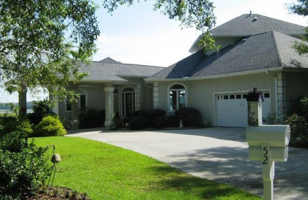 A beautiful home for sale in Brunswick County