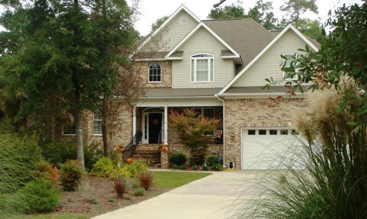 A beautiful home for sale in Brunswick County.
