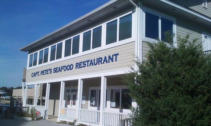 Captain Pete S Restaurant In Holden Beach North Carolina