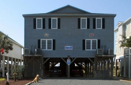 A beautiful home for sale in Holden Beach North Carolina