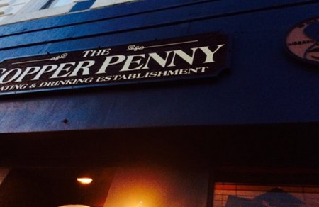 The front of the Copper Penny restaurant in Wilmington North Carolina