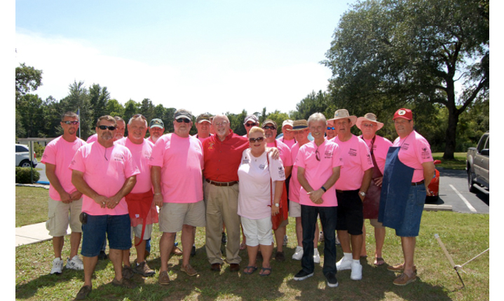 Members of South Brunswick Islands Shrine Club
