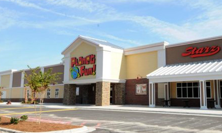 a picture of Planet Fun Center Building