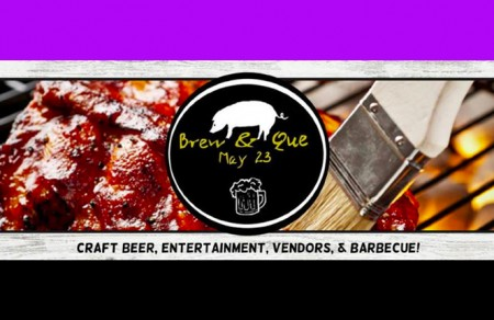 Don't Miss the Brew & Que Event Tomorrow!