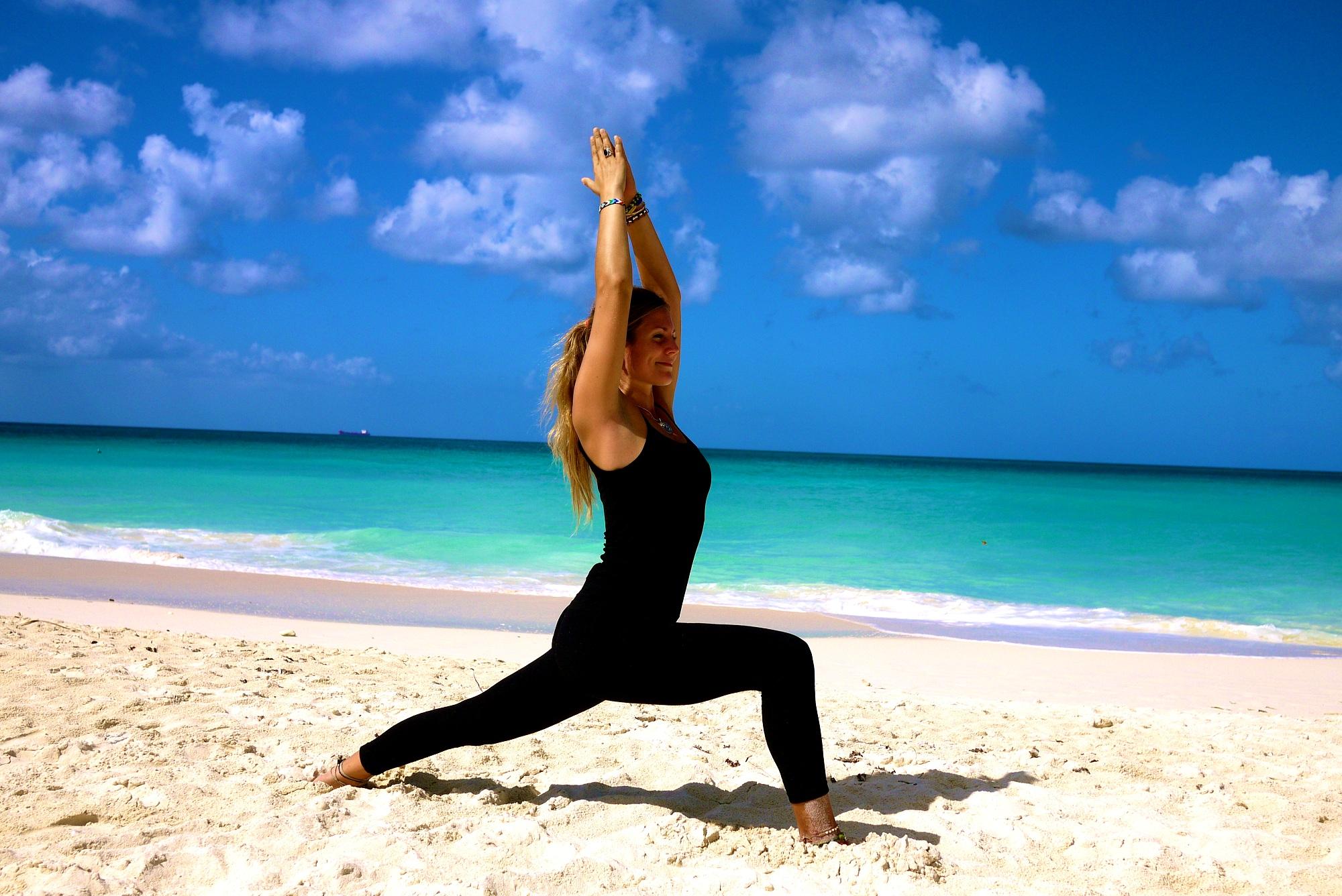 Yoga Warrior Pose 2